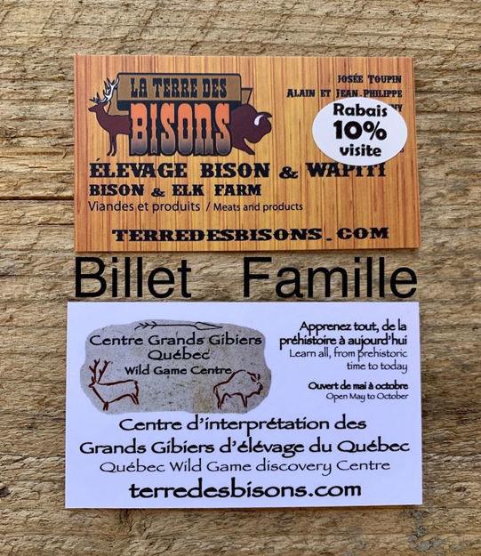 Image sur Admission famille : Centre d'interprétation des Grands Gibiers du Québec