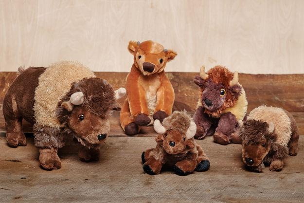 Image sur Peluches Bison