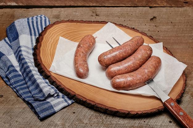 Image sur Saucisse 100% bison et sans gluten