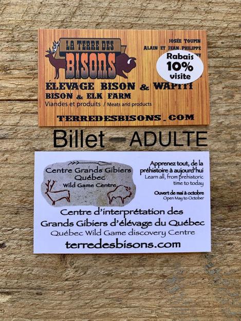 Image sur Admission adulte : Centre d'interprétation des Grands Gibiers du Québec